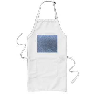 Pastel blue glitter aprons