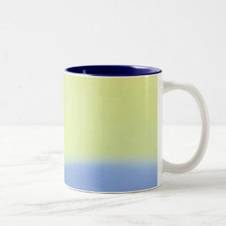 Pastel Blue & Green Mug