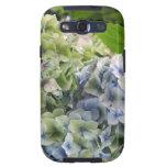 Pastel Blue Hydrangeas Galaxy S3 Cases