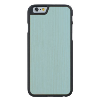 Pastel Blue Maple Wood Carved® Maple iPhone 6 Slim Case
