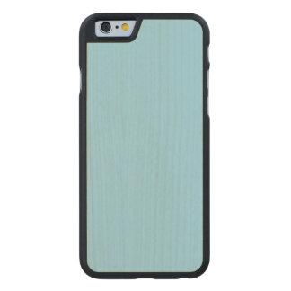 Pastel Blue Maple Wood Carved® Maple iPhone 6 Slim Case
