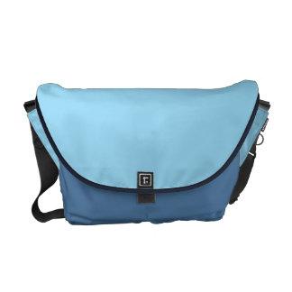 Pastel Blue Messenger Bag