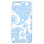 Pastel Blue Paisley Design. iPhone 5C Cover