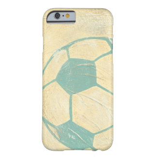 Pastel Blue Soccer Ball by Chariklia Zarris Barely There iPhone 6 Case