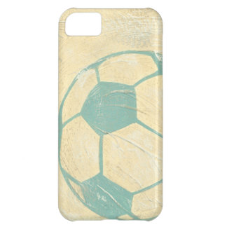 Pastel Blue Soccer Ball by Chariklia Zarris iPhone 5C Cases