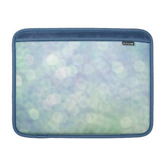 Pastel Blue sparkles / glitter (matt) Sleeves For MacBook Air