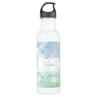 Pastel Blue sparkles / glitter (matt) Water Bottle