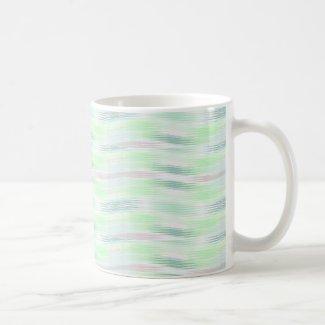 Pastel Blue Wave Mugs