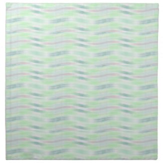 Pastel Blue Wave Napkins