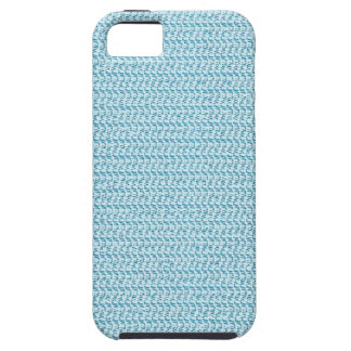 Pastel Blue Weave Look iPhone 5 Cover