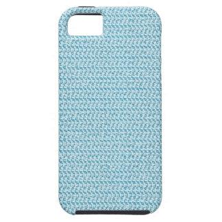 Pastel Blue Weave Mesh Look iPhone SE/5/5s Case