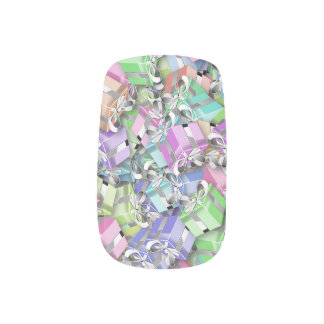 pastel boxes minx nail art