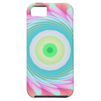 Pastel Brights Whirl iPhone SE/5/5s Case
