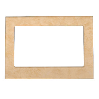 Pastel Brown Marble Magnetic Picture Frame
