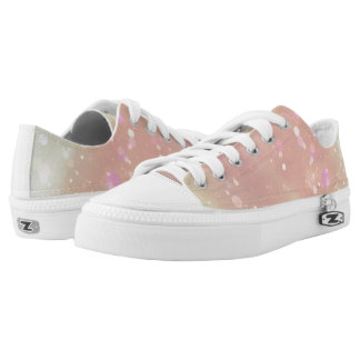 Pastel Bubbles Low-Top Sneakers