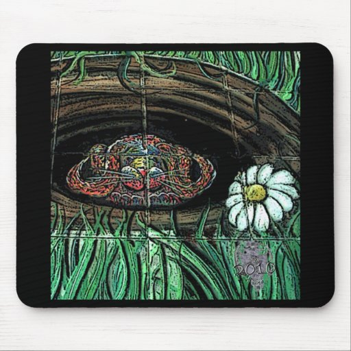 Pastel Bunny Pad Mouse Pad