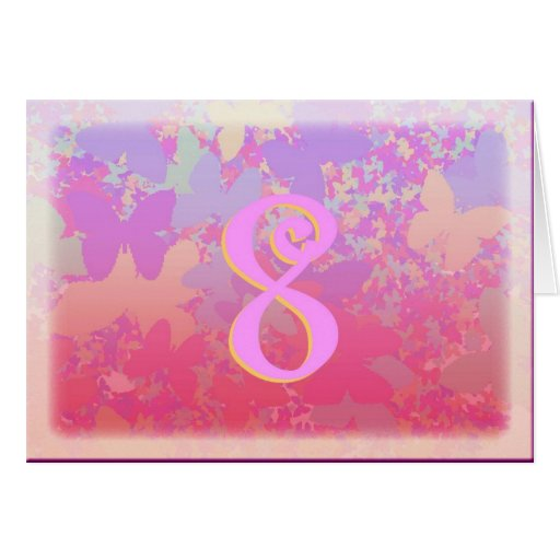 Pastel Butterflies Greeting Card