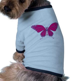 Pastel Butterfly Pet Tee