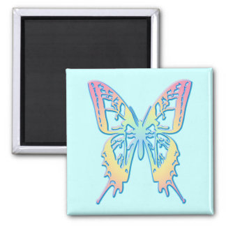 Pastel Butterfly Magnet