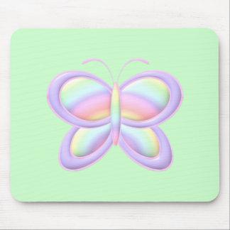 Pastel Butterfly Mousepad