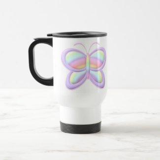Pastel Butterfly mug