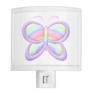 Pastel Butterfly Night Light