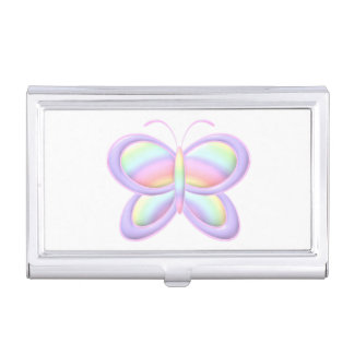 Pastel Butterfly Business Card Holders