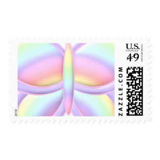 Pastel Butterfly Stamp