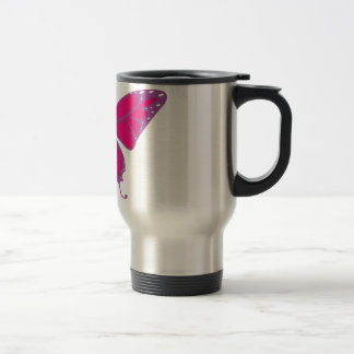 PASTEL BUTTERFLY TRAVEL MUG