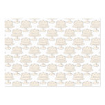 Pastel Cake Pattern. Business Cards