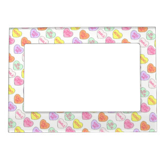 Pastel Candy Heart Hearts Valentine's Day Frame
