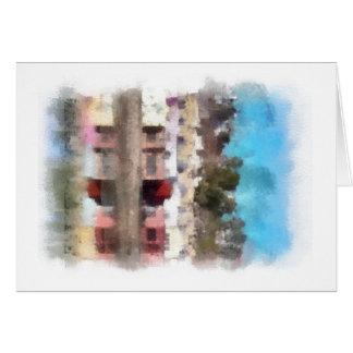Pastel Capitola Greeting Card