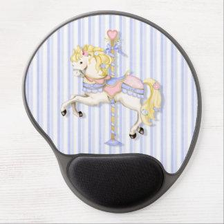 Pastel Carousel Pony Gel Mouse Mat
