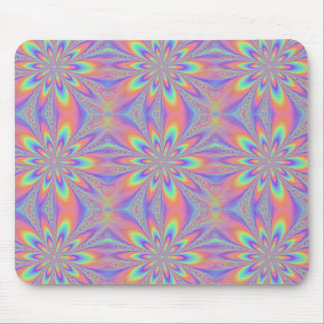 Pastel Chains Pattern Mouse Pad