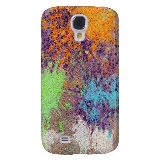 Pastel chalk splatter galaxy s4 cases