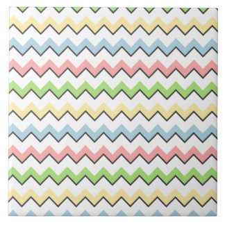 Pastel Chevron-Drop Shadow by Shirley Taylor Tile