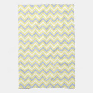 Pastel Chevron Pattern Kitchen Towel