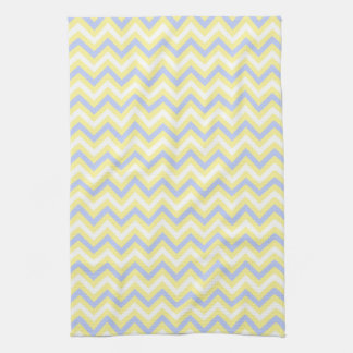 Pastel Chevron Pattern Hand Towels