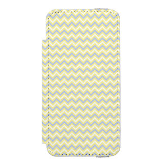 Pastel Chevron Pattern Incipio Watson™ iPhone 5 Wallet Case