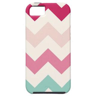 Pastel chevron zigzag nautical zig zag pattern iPhone 5 case