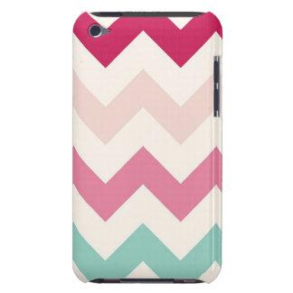 Pastel chevron zigzag stripes zig zag pattern chic iPod touch case