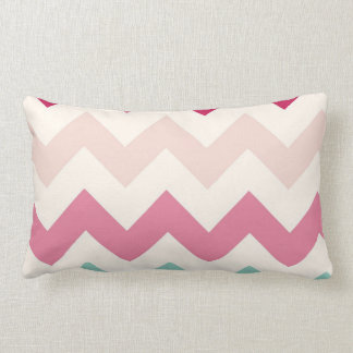 Pastel chevron zigzag stripes zig zag pattern chic pillow