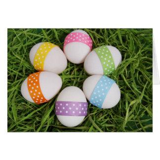 Pastel Circle of Eggs Card