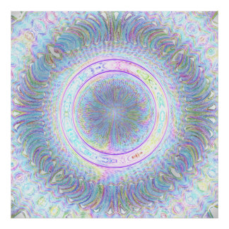 Pastel Circle Print