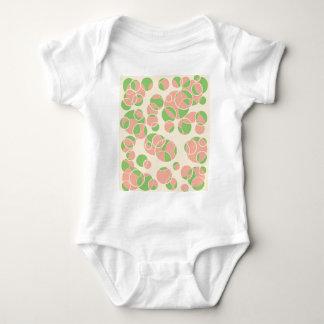 Pastel circles baby bodysuit