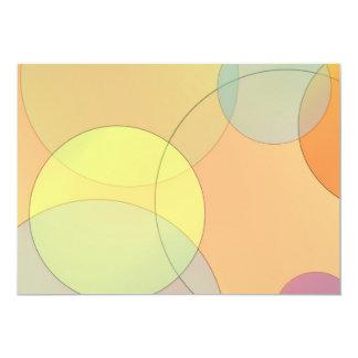 Pastel Circles Card