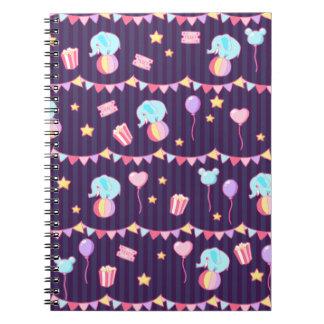 Pastel Circus Notebook