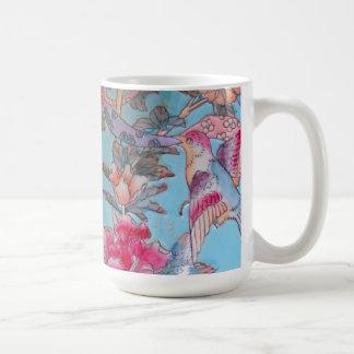 Pastel Cloisonne Coffee Mug