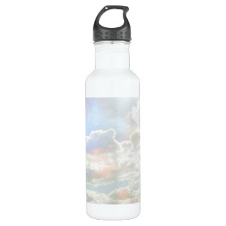 Pastel Clouds Stainless Steel Water Bottle