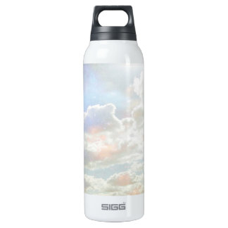 Pastel Clouds Thermos Water Bottle